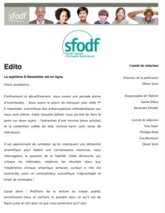 SFODF - Enewsletter 7