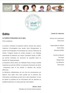 SFODF - E newsletter n°8