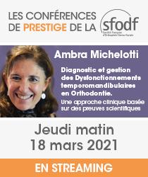 SFODF - Conférences de Prestige
